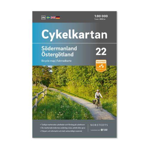 Cykelkarta 22 Södermanland Östergötland 9789113106281