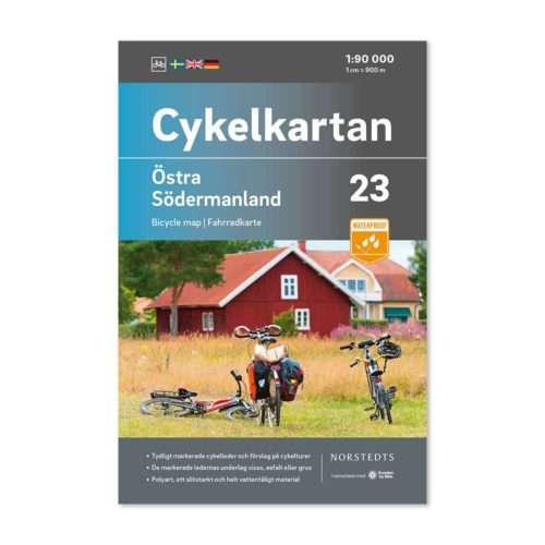 Cykelkarta 23 Östra Södermanland 9789113106298