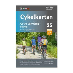 Cykelkarta 25 Östra Värmland Närke 9789113106311