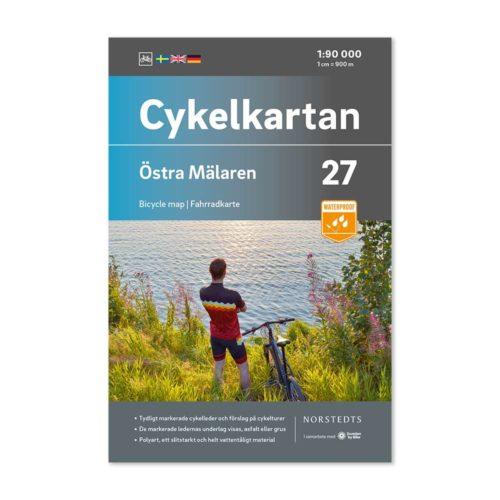 svensk cykelkarta 27 Östra Mälaren 9789113106335