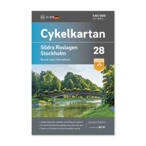 Cykelkarta 28 Södra Roslagen Stockholm 9789113106342