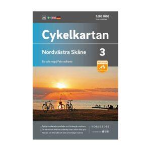Cykelkarta 3 Nordvästa Skåne bild framsida 9789113106090