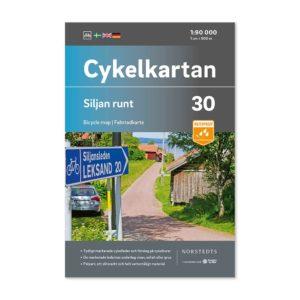 Cykelkarta 30 Siljan runt 9789113106366