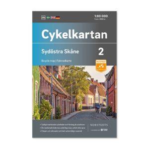 Cykelkartan 2 Sydöstra Skåne bild framsida 9789113106083