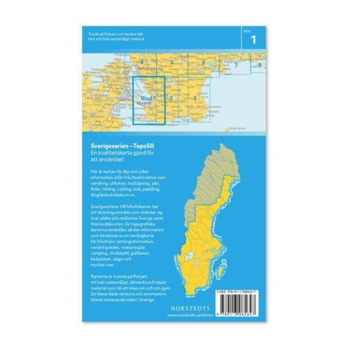 Friluftskarta 1 Malmö 150000 bild baksida 9789113085647
