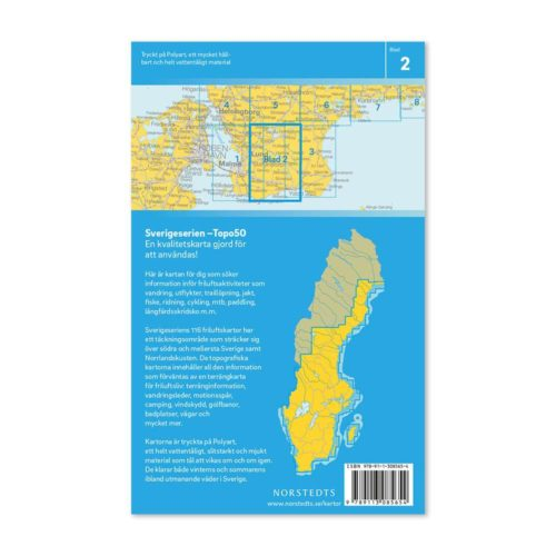 Friluftskarta 2 Ystad bild baksida 9789113085654
