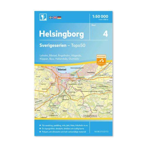 Friluftskarta 4 Helsingborg bild framsida 9789113085678