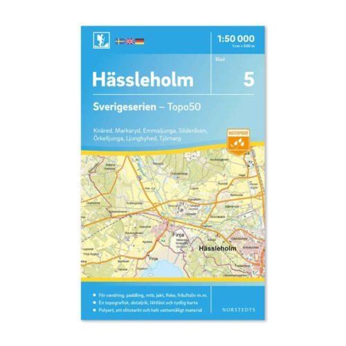 Friluftskarta 5 Hässleholm Knäred, Markaryd, Emmaljunga, Söderåsen, Örkelljunga, Ljungbyhed, Tjörnarp (2)