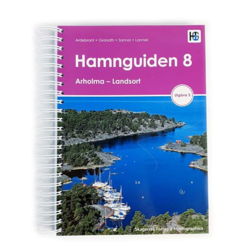 Hamnguiden 8 Arholma-Landsort Naturhamn Gästhamns guide Framsida Kartkungen