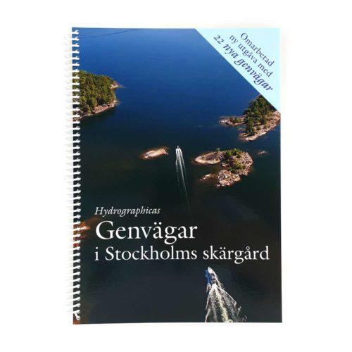 Sjökort Hydrographica genvägar i Stockholmsskärgård framsida GV61-1