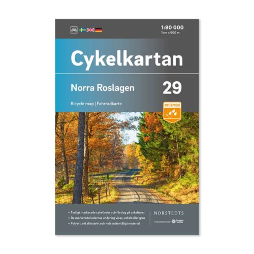 cykelkarta 29 Norra Roslagen karta för cykel 9789113106359