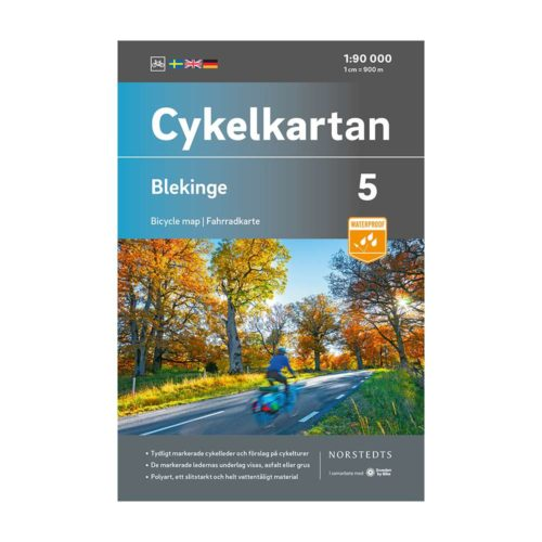 Cykelkarta blad 5 Blekinge 9789113106113