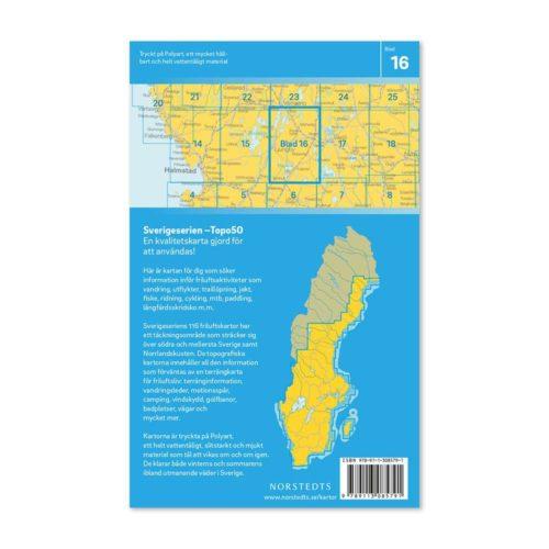 Friluftskarta 16 Ljungby Sverigeserien 9789113085791 (2)