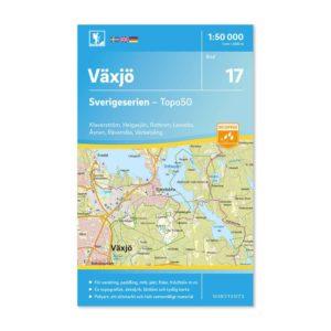 Friluftskarta 17 Växjö Sverigeserien 9789113085807