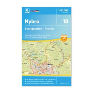 Friluftskarta 18 Nybro Sverigeserien 9789113085814