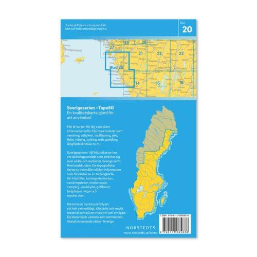Friluftskarta 20 Varberg Sverigeserien 9789113085838 (2)