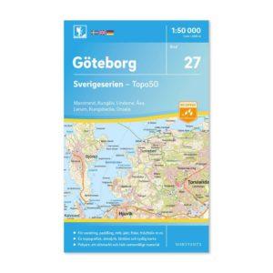 Friluftskarta 27 Göteborg Sverigeserien 9789113085906