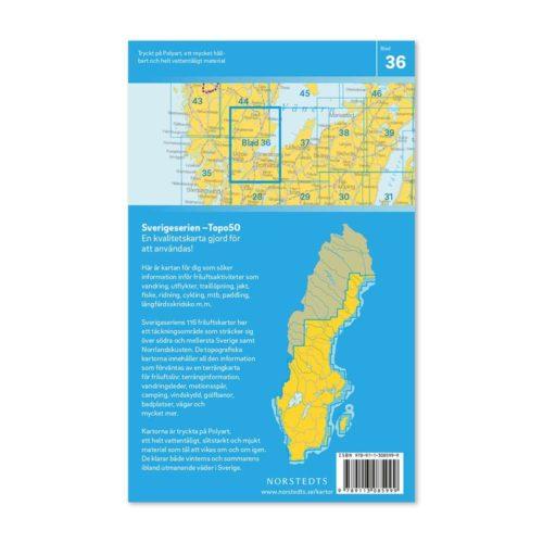 Friluftskarta 36 Trollhättan Sverigeserien 978911308599 (2)