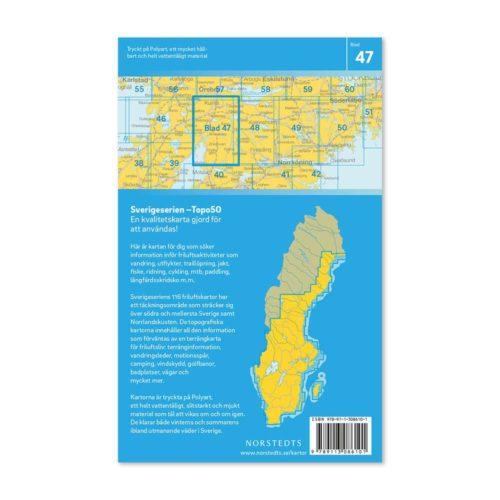 Friluftskarta 47 Askersund 150 000. Kartan täcker även in Fjugesta, Kumla, Pålsboda, Halsberg, Olshammar, Nykyrka och Tjällmo.Art.nr 9789113086101 (2)