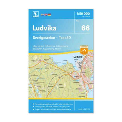 Friluftskarta 66 Ludvika Sverigeserien 150 000 Kartan täcker även Idgerberget, Nyhammar, Grängesberg, Ställdalen, Kopparberg och Kloten.9789113086293