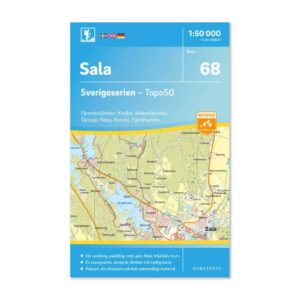 Friluftskarta 68 Sala Sverigeserien 9789113086316