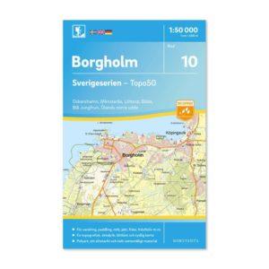 friluftskarta 10 Borgholm 9789113085739 Oskarshamn-Mönsterås-Löttorp-Böda-Blå-jungfrun-Ölands-södra-udde