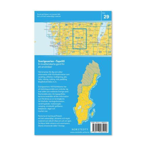 friluftskarta 29 Borås Sverigeserien 9789113085920 (2)