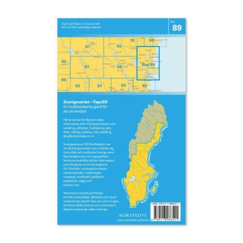 friluftskarta vandringskarta 89 hudiksvall sverigeserien 9789113086521 (2)