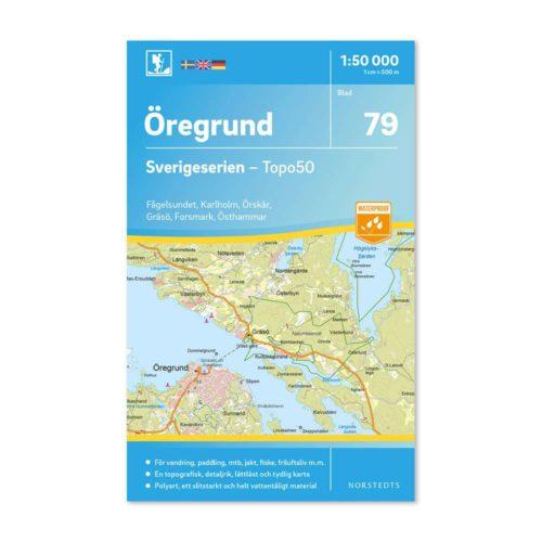 karta 79 Öregrund Sverigeserien 150 000 art 9789113086422