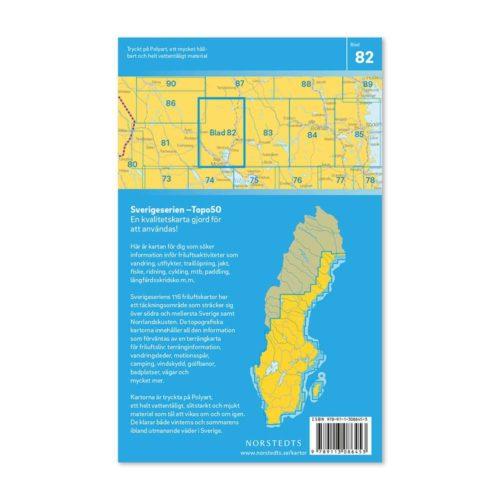vandringskarta friluftskarta 82 Mora artikel 9789113086453 Sverigeserien 150 000 (2)