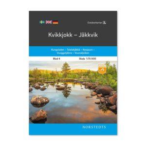 Fjällkarta 4 Kvikkjokk-Jäkkvik 9789113068169 framsida