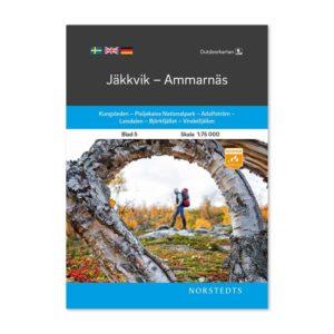 Fjällkarta 5 Jäkkvik-Ammarnäs 9789113068176 framsida