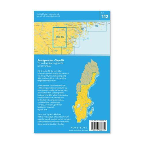 Friluftskarta 112 Älvsbyn Sverigeserien map hike sweden 9789113086750 (2)