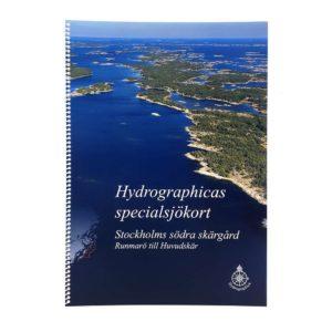 Hydrographica Specialsjökort - båtsportkort Runmarö-Huvudskär Stockholms södra skärgård HG-616