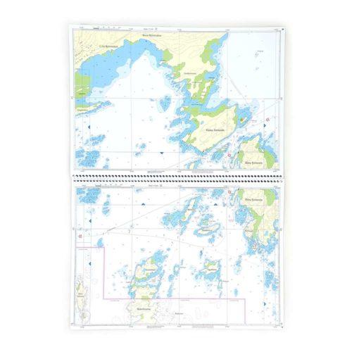 Hydrographica Specialsjökort båtsportkort norra vänern Karlstad Kristinehamn HG132-01 (3)