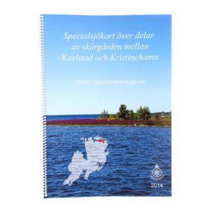 Hydrographica Specialsjökort båtsportkort norra vänern Karlstad Kristinehamn HG132-01