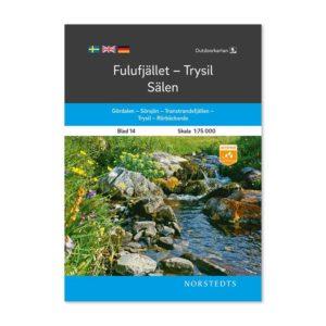 Outdoorkarta Fjällkarta 14 Fulufjället-Trysil-Sälen framsida 9789113068275 topografischer Freiluftkarten