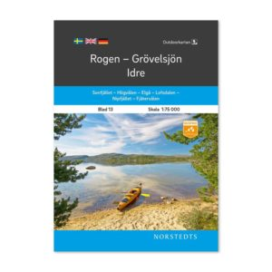 Outdoorkarta fjällkarta sverige 13 Rogen-Grövelsjön-Idre framsida 9789113068268