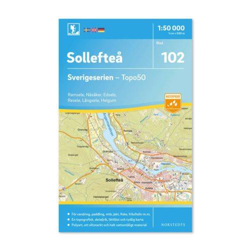 friluftskarta sollefteå sverigeserien 9789113086651 wanderkarte schweden