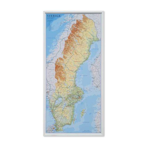 karta-för-väggen-sverige-vitram