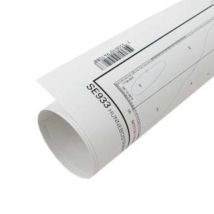 pappers sjökort sjöfartsverket rullat papperssjökort