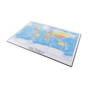 skrivbord underlägg-världskarta-39cmx49cm