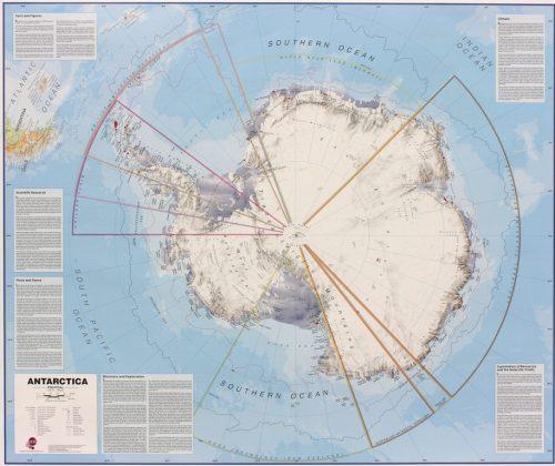 Karta över antarktis 9781904892038