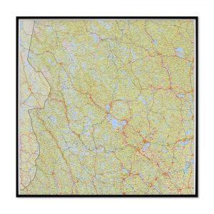 karta-över-dalarna-för-väggen-för-markering-med-nålar
