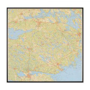 karta-på-södermanlands-län-sörmland-för-markering-med-nålar