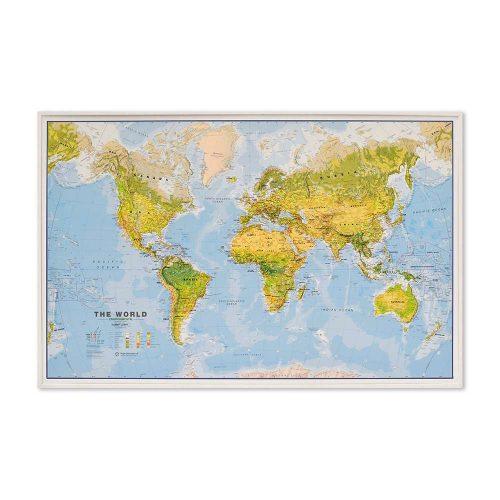 stor-världskarta-över-världen-miljö-med-vit-ram-och-markering-for-kartnalar-pins