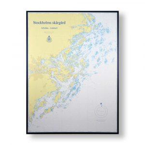 sjokort-for-vagg-arholma-landsort-hydrographica-90x120cm-svart-ram