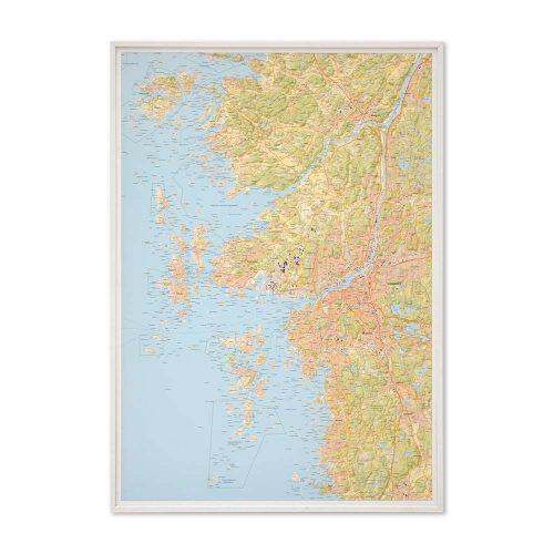 stor-karta-over-goteborg-och-kusten-for-nalar-vit-ram