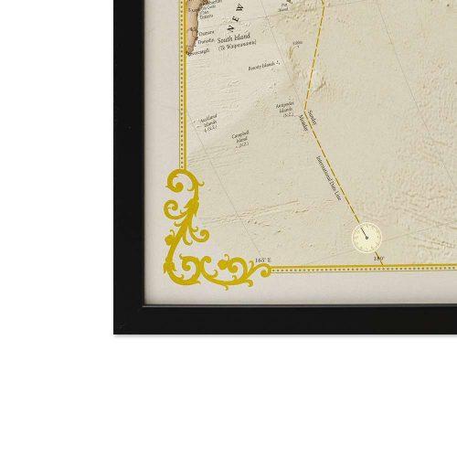 stor världskarta för väggen över världen antik för nålar