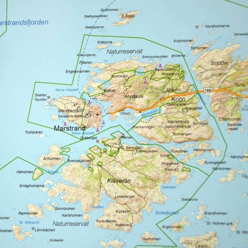 karta-med-ram-marstrand-göteborg